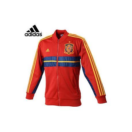 FEF sudadera roja | Federación Española Sudadera Adidas | Sudadera de la Roja