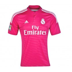 a66b9a42a73e9 Camiseta oficial 2ª Junior 2014 15 Real Madrid CF. Fucsia
