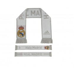 Bufanda Doble oficial Real Madrid Blanco
