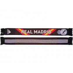 Bufanda Doble oficial Real Madrid Negra España
