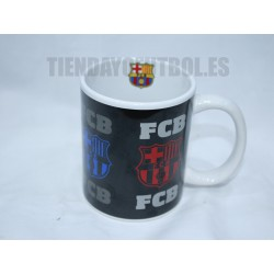 "Taza cerámica oficial FC Barcelona ""FCB"""