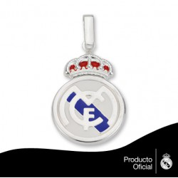 Colgante plata Real Madrid CF.