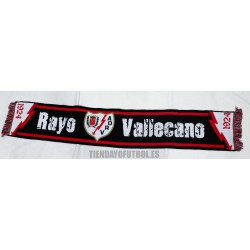 Bufandal del Rayo Vallecano negra