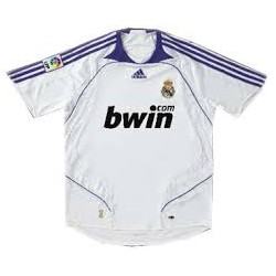 Camiseta 1ª blanca -morado Real Madrid CF