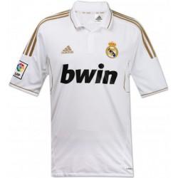 Camiseta 1ª con oro Real Madrid CF Adidas