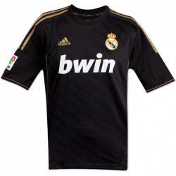 Camiseta 2ª negra - oro Real Madrid CFAdidas