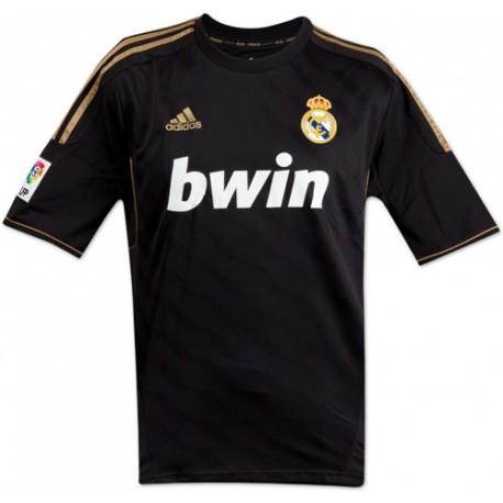 Camiseta 2ª negra - oro Real Madrid CFAdidas. Loading zoom f78172b87f972