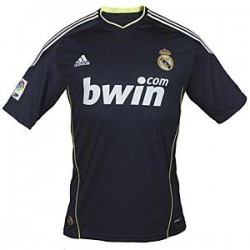 Camiseta 2ª  Real Madrid CF Adidas  azul