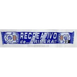 "Bufanda oficial del Real Club Recreativo de Huelva  ""de primera!!"""