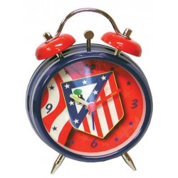 Reloj  despertador musical Atletico de Madrid