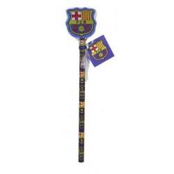 Lapicero con goma oficial F.C.Barcelona
