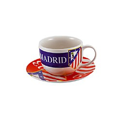 Tazón y plato yumbo Atletico de Madrid