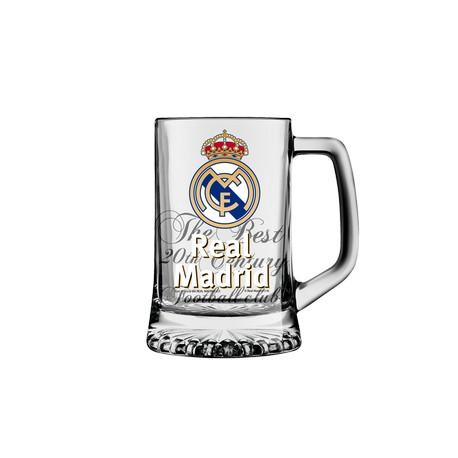 Jarra cerveza pequeña Real Madrid CF