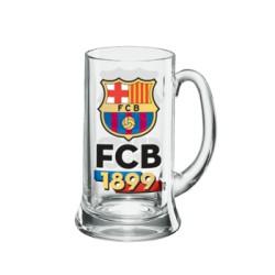 Jarra cerveza pequeña FC Barcelona