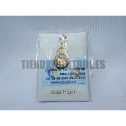 Colgante Oro Real Madrid CF escudo
