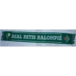 Bufanda oficial del Real Betis Balompié