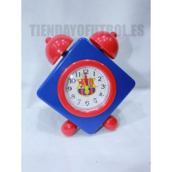 Reloj Despertador rombo FC Barcelona