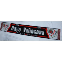 Bufanda Rayo Vallecano de Madrid