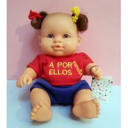 Muñeca bebé de Selección España