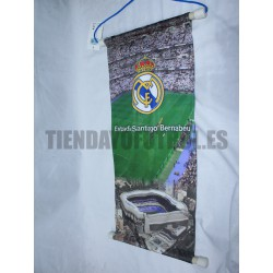 Estandarte grande nº 2 Real Madrid CF
