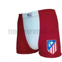 Boxer oficial Atlético rojo con blanco