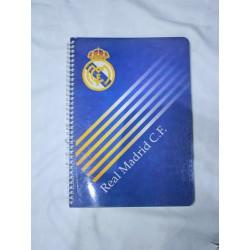 Cuaderno espiral   Real Madrid CF