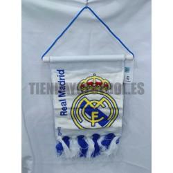 Estandarte pequeño  Blanco Real Madrid CF