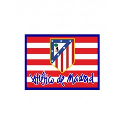 """Bandera oficial Clásica Atlético de Madrid """"Grande"""""""