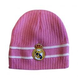 Gorro Rosa lana Real Madrid CF