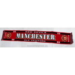 Bufanda oficial del Manchester United FC