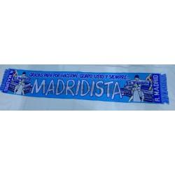 Bufanda guapo,listo y siempre Madridista