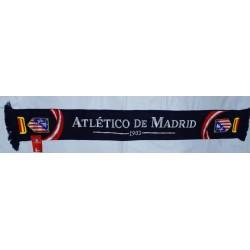 Bufanda doble azul Atlético de Madrid
