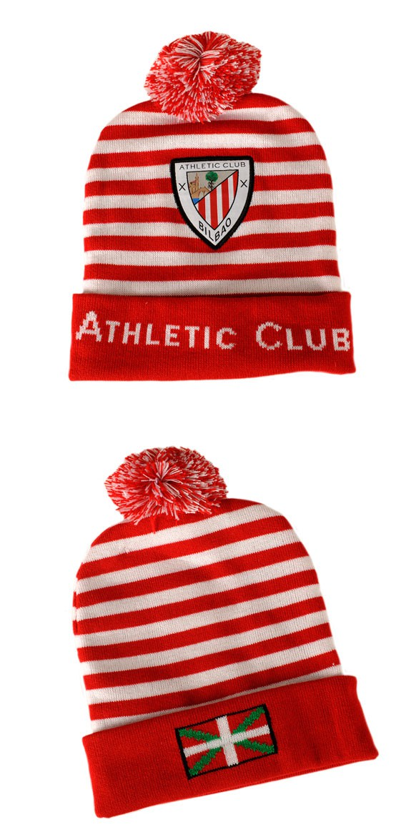 Gorro pompon Athletic club Bilbao  ada6137e910