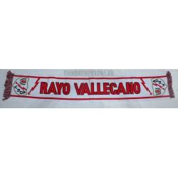 Bufanda del Rayo Vallecano clásica