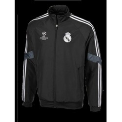 Chubasquero negro Real Madrid CF Adidas 2b8ffd3236f0f