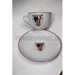 Plato mas taza Athletic Club de Bilbao