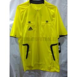 Camiseta Arbitro Amarilla Adidas