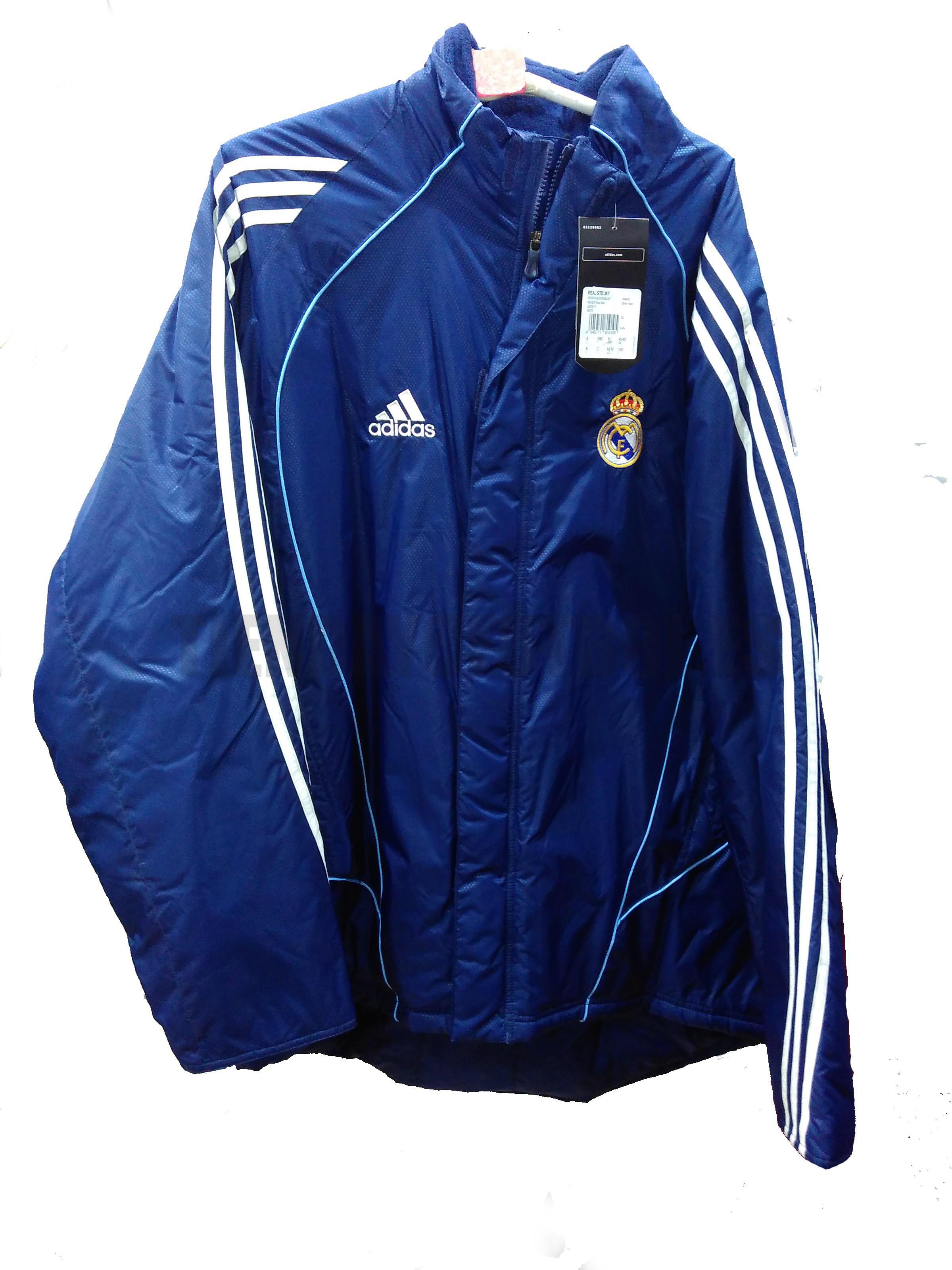 abrigo Real Madrid Chamarro azul 77acd4cc99ac1