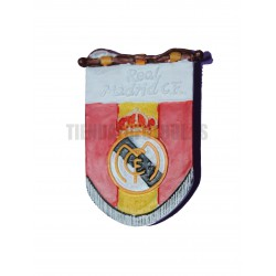 Imán oficial Real Madrid Gallardete
