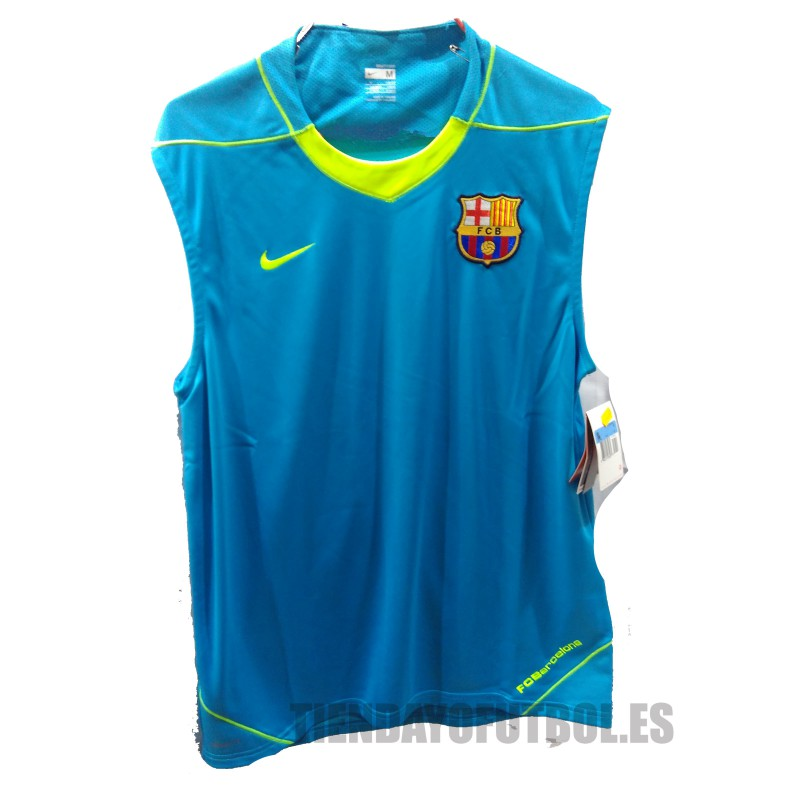 0b37ee51d2a9a Camiseta Entrenamiento sin manga FC Barcelona Nike azul claro. Loading zoom