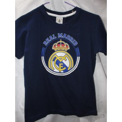 Camiseta Algodón azul Jr. Real Madrid CF 6392df30f7668