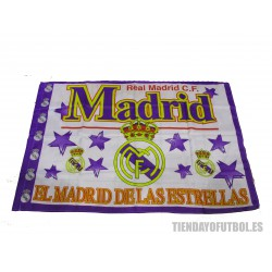 Bandera Real Madrid CF Estrellas