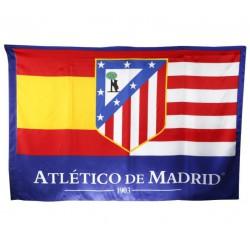 """Bandera Oficial At. de Madrid """"España"""""""