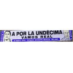 """Bufanda final de Champión """"A POR LA UNDÉCIMA"""""""