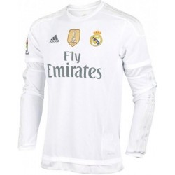 Camiseta 1ª Manga larga 2015-16 Real Madrid Cf Adidas