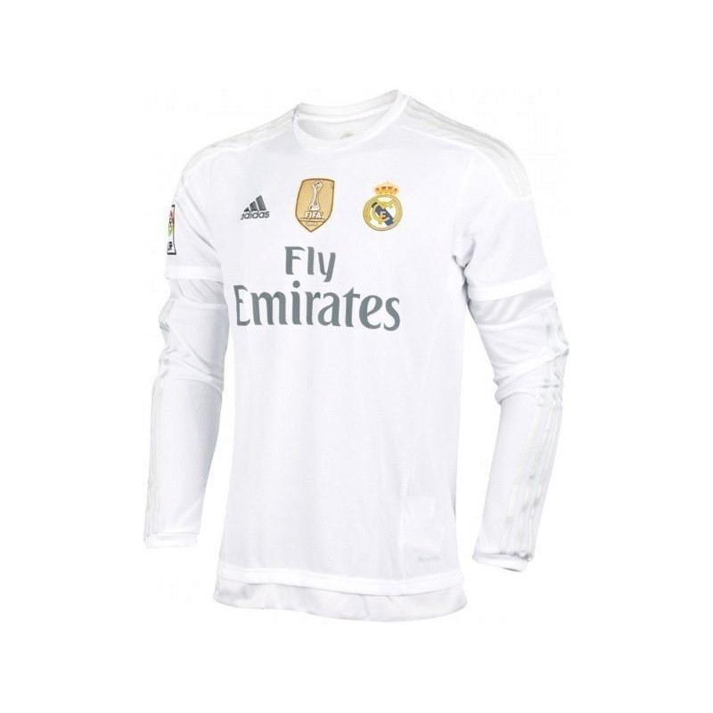 75826fa1d99ae Camiseta 1ª Manga larga 2015-16 Real Madrid Cf Adidas. Loading zoom