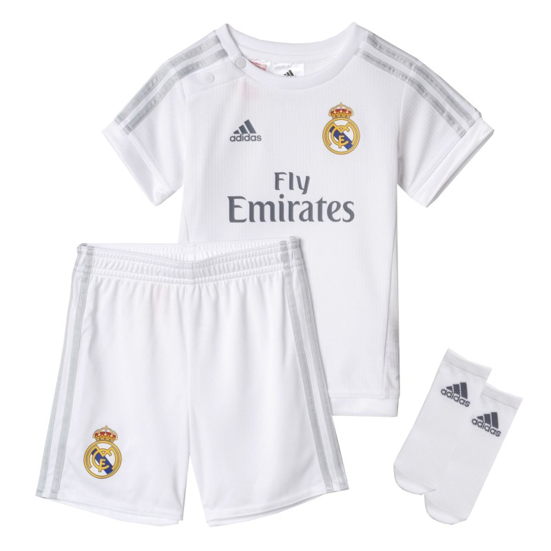 Kit 1ª bebe 2015-16 Real Madrid CF ADIDAS. Loading zoom c375dc8c7d427