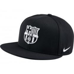 3a84bef3e9600 Gorra plana FC Barcelona negra Nike 2016 17