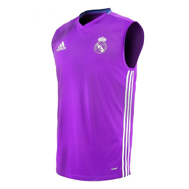 c553b1f76f374 NUEVO Camiseta Entrenamiento. s  manga Real Madrid CF 2016 17 Adidas.  Loading zoom