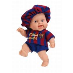 Muñeco bebé F.C. Barcelona